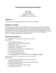 10 Cna Resume Sample No Experience Job Duties Certified Nursing