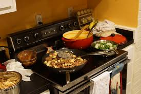 Kitchen Dinner A Messy Kitchen Dinner Party Please Have A Seat Notes From A