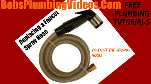 Kitchen sink hoses Sprayer How To Repair Or Replace Faucet Spray Hose Dkadipascom How To Repair Or Replace Faucet Spray Hose Youtube