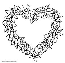 Small Picture A heart shaped wreath
