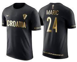 Golden Croatia Black Apparel T-shirt Limited Mirko Marić 24