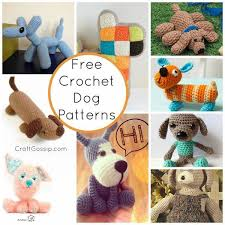 Crochet Dog Pattern Beauteous Crochet Dog Patterns Crochet