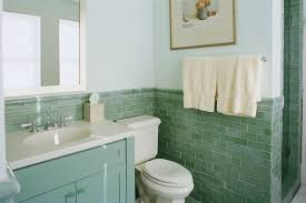 Bathroom:Futuristic Green Bathroom Design With White Toilet And Large Wall  Mirror Ideas Dazzling Green