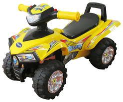 Купить <b>каталка</b> детская <b>Sweet Baby</b> ATV квадроцил желтая, цены ...