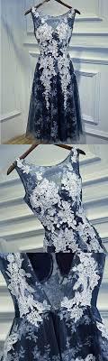 Die besten 25+ dunkelblau prom Kleider Ideen auf Pinterest ...