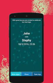 wedding invitation maker android apps on google play Wedding Invitation Wording Maker wedding invitation maker screenshot wedding invitation wording modern