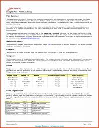 Corporate Business Plan Template 006 Sales Business Plan Template Pdf For Media Production
