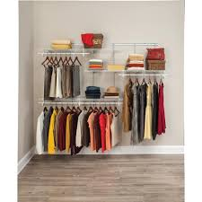 closetmaid shelftrack 5 ft to 8 ft 134 in d x 96 in w x 493 in in wire shelf closet organizer how to install wire shelf closet organizer