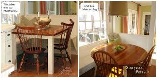 Painted Kitchen Table Round Kitchen Table Makeover Best Kitchen Ideas 2017