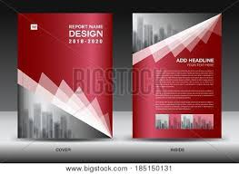 Company Report Template Custom Business Brochure Vector Photo Free Trial Bigstock