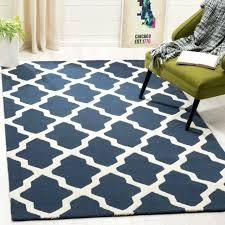 safavieh handmade moroccan cambridge navy blue wool rug handmade blue wool rug