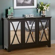 dining room consoles buffets. mirrored black buffet console dining room wood cabinet shelves home furniture consoles buffets l