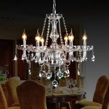 ella fashion crystop classic vintage crystal candle chandeliers