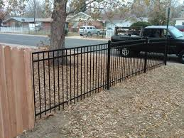 vinyl fence with metal gate. Best Vinyl Fence Gates Lowes 6. «« With Metal Gate