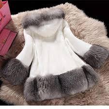 NEW <b>Faux Fur Coat</b> Women 2018 <b>Autumn</b> and Winter <b>Mink Fur</b> ...