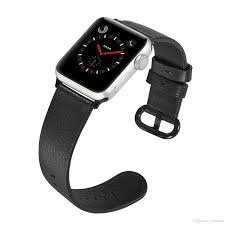 for iwatch bling leather strap replacement band for apple watch 38mm 42mm watch band 40mm 44mm wrist strap series 4 3 2 1 watches with leather strap watch