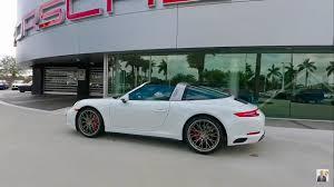 2018 porsche targa 4s. plain 2018 2017 white porsche 911 targa 4s 420 hp  west broward inside 2018 porsche targa 4s