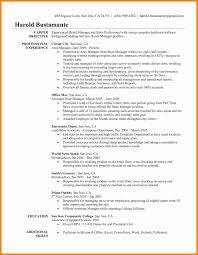 6 Resume Objective For Retail Forklift Resume