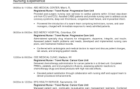 Resumes For Nurses Template Monday To Sunday Schedule Template