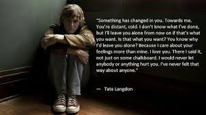 Tate Langdon Quotes Simple Image About Quotes In American Horror Story By IceTiger48