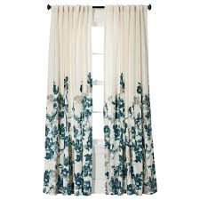 target threshold climbing vine curtains in teal