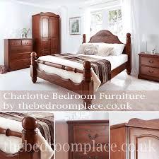 Oak Bedroom Furniture Uk Charlotte Oak Bedroom Furniture By Thebedroomplacecouk Uk