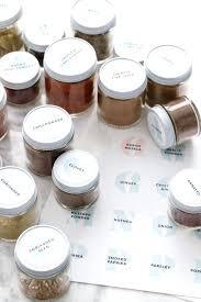 Avery Jar Labels Printable Spice Jar Labels Blank Label Foreversmile Co