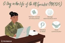 Human Resources Specialist Mos 42a Job Description Salary