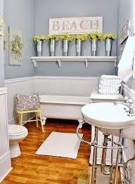 small bathroom ideas images. 3. Space-Saving Retro Sink And Clawfoot Tub Small Bathroom Ideas Images I