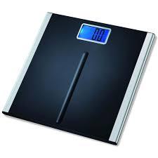 Black Bathroom Scales Eatsmart Precision Premium Digital Bathroom Scale In Black