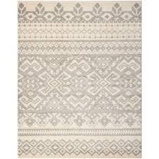 safavieh adirondack ivory silver 11 ft x 15 ft area rug