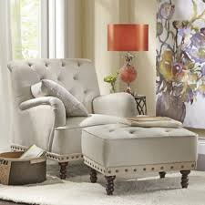 Impressive Accent Chair With Ottoman Innovative Accent Chairs With