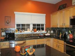 kitchen:Fascinating , Orange Kitchen, Decor Ideas, Kitchen Design, Best  Kitchen Colors