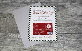 printable santa s nice list certificate gcg to give this certificate a little more pop i added a backing of silver card stock paper since the cropped card measures just below 5 x 7