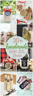 Handmade Food Gift Ideas - so many simple, cute and inexpensive gift ideas  to make and give to friends, family and neighbors.