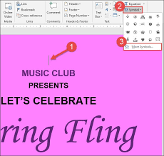 Here you can copy symbols and use them in any media that accepts them! How To Insert Music Symbols In A Word Document