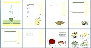 Microsoft Proposal Templates Impressive Cookbook Template Free Word Format Intended For Recipe Microsoft