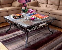 image of tile top ashley furniture coffee table