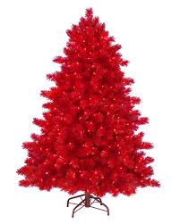 6 Ft Ashley Red Artificial Christmas Tree  Christmas Tree MarketRed Artificial Christmas Trees