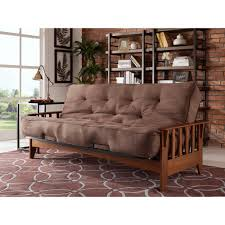 Living Room Furniture Seattle Simmons Seattle Chocolate Futon Si Ex Sea Vo 2c The Home Depot