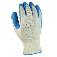 garden gloves. Firm Grip Latex-Coated Cotton Large Work Gloves Garden