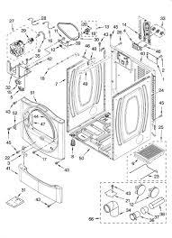 Kenmore he2 dryer wiring diagram valid kenmore model residential dryer genuine parts