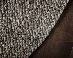 gray close up jute rug