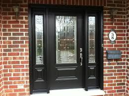 doors astounding black front door with sidelights front