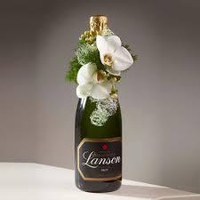 Champagne Bottle Decoration Champagne Bottle Decoration Using An Oasisr Mini Deco Floral