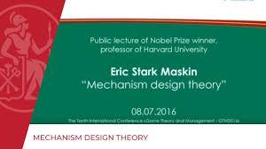 Mechanism Design Theory Mechanism Design Theory