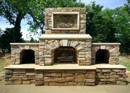 outdoor wood fireplace kits outdoor stone wood burning fireplace kits