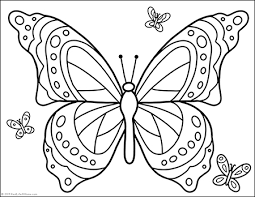 Parrots, owls, ducks sheets, roosters sheets, turkey pictures and parakeets are just a few of the many birds and butterfly coloring pages, coloring sheets and coloring pictures in this section. Free Printable Butterfly Coloring Page For Kids And Adults