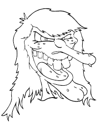 Scary Coloring Pages Holiday Coloring Pages Coloring Pages