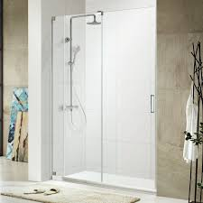 full size of bathroom awesome glass sower doors single sliding frameless design chrome hardware finish
